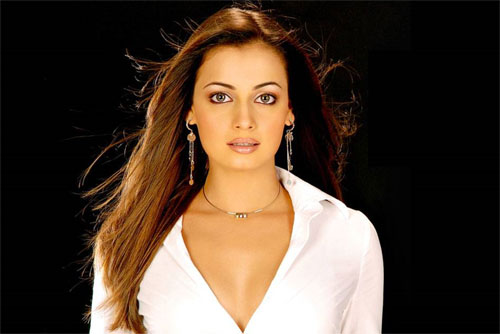 Dia Mirza and her salsa