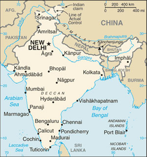 india bordering countries