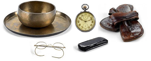 Mahatma Gandhi items auction