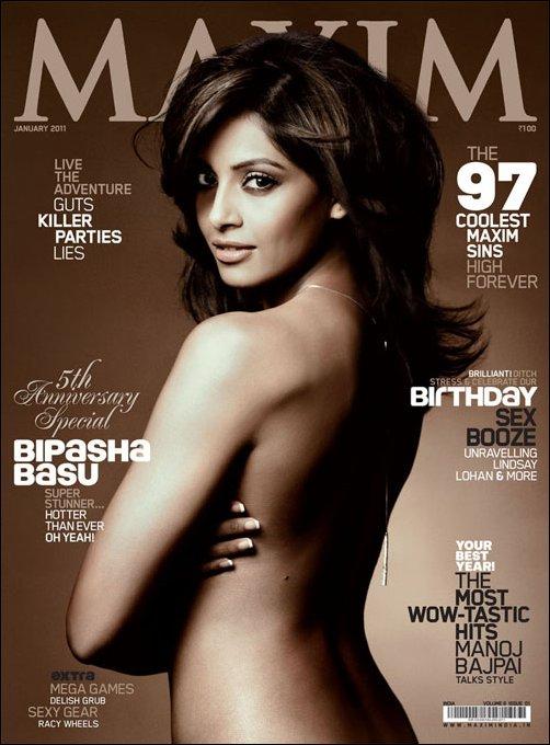 Bipasha Basu goes topless at 32 For Maxim Magazine