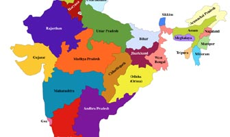 India Map 2017.Admin